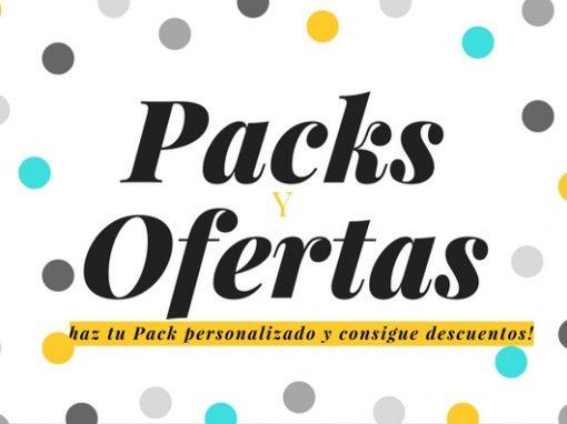 PACKS Y OFERTAS INDEAeSTUDIO