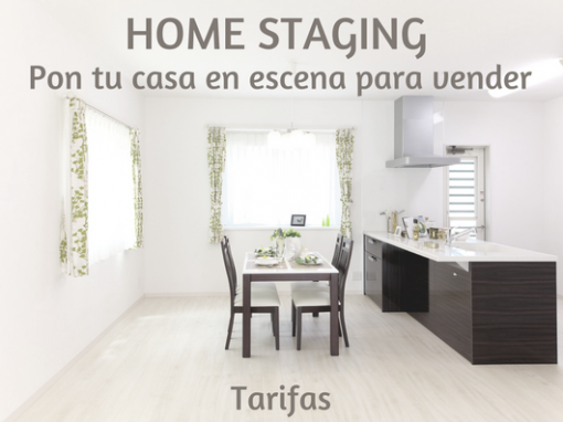 HOME STAGING TARIFAS